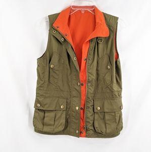 Ralph Lauren Reversable Vest Olive Green & Orange